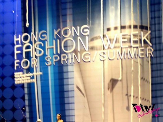 hk fashion week banner