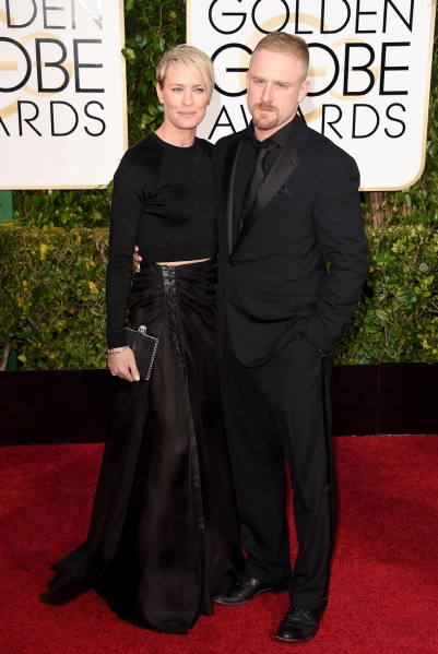 13 .Robin Wright, in Ralph Lauren, and Ben Foster