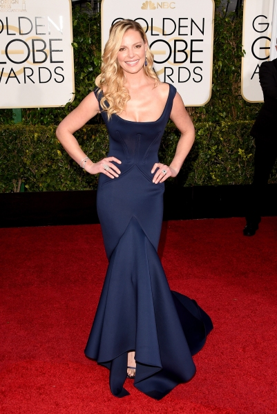 8. Katherine Heigl, in Zac Posen