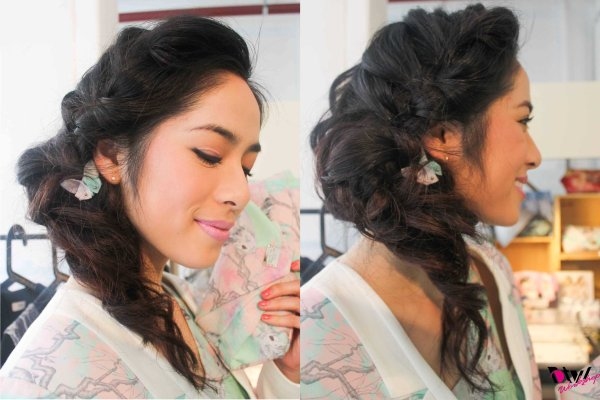 ETHERAL BRAIDED SIDESWEPT WAVES