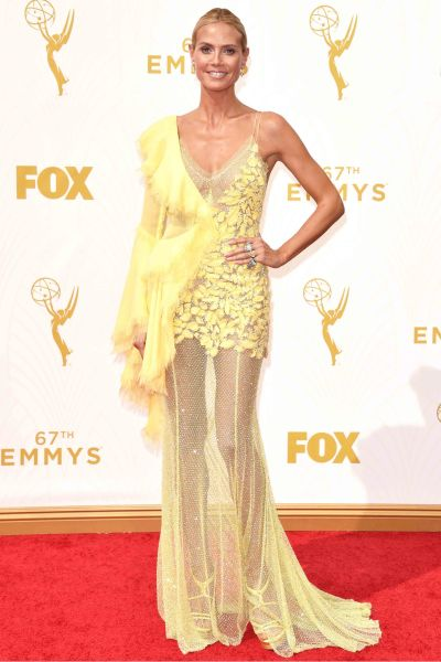 HEIDI KLUM IN ALTELIER VERSACE