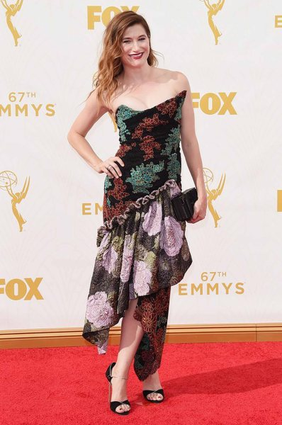 Kathryn Haan in Vivienne Westwood dress, Eva Fehren jewelry, and Rauwolf bag