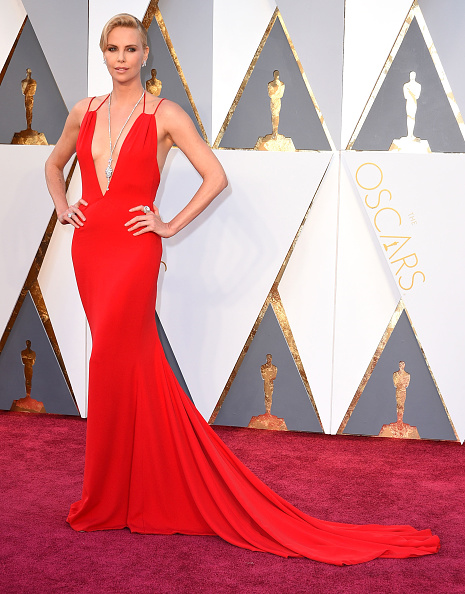 Oscars 2016 Dissappointment CHARLIZE THERON DIOR