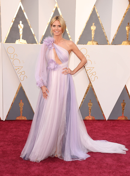 Oscars 2016 Worse Dressed Heidi Klum in Marchesa